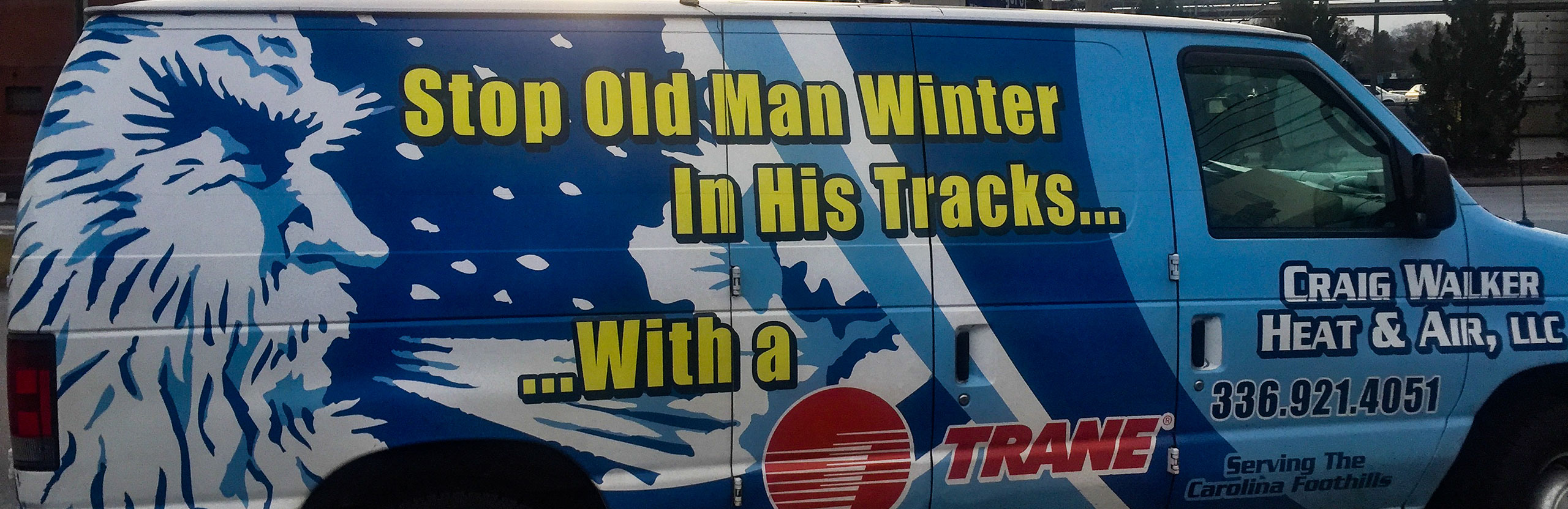 stop old man winter with a Trane